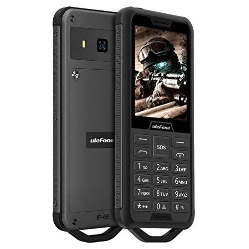 Ulefone Armor Mini 2 - Smartphone resistente 2.4' IP68 2G Dual SIM 2100mAh batería 32MB RAM + 32MB ROM Soporte 32GB Negro
