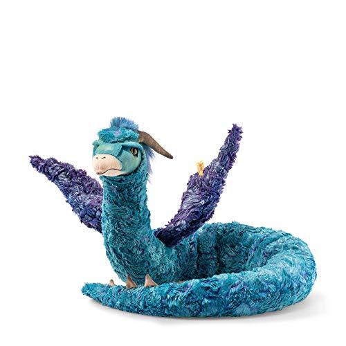 Steiff Figura de coleccionista de Bestias fantásticas Occamy 130cm Azul púrpura