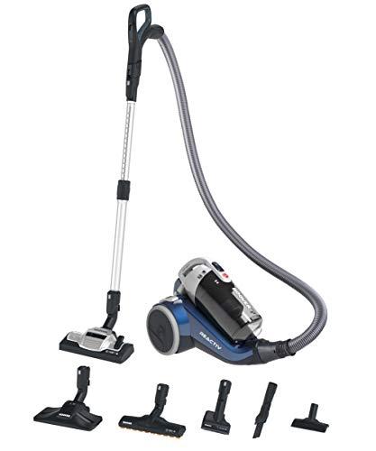 Hoover RC69PET 011 39001627, Bodenstaubsauger ohne Beutel, Oltremare Blue mit Glossy Effekt, 550 W, 64 Dezibel