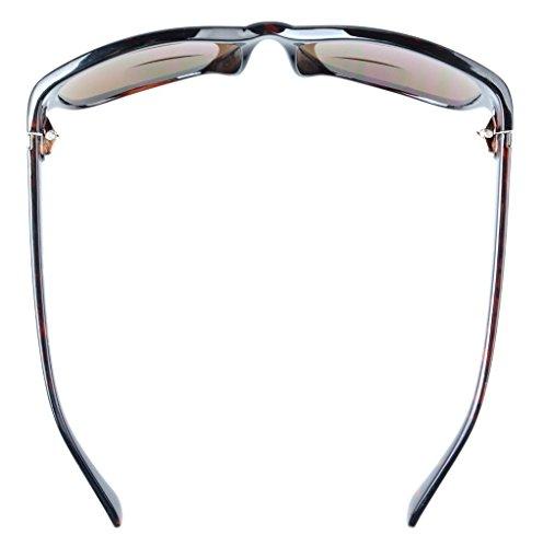 Eyekepper Bi-Focal Sunshine Readers Fashion Bifocal Sunglasses Tortoise/Brown Lens +2.5 Michigan