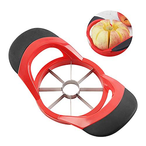 JINYJIA Cortador de Manzanas, Acero Inoxidable Frutas Rebanador, Pelador de Manzanas Separador, per Frutas, Peras, Manzanas