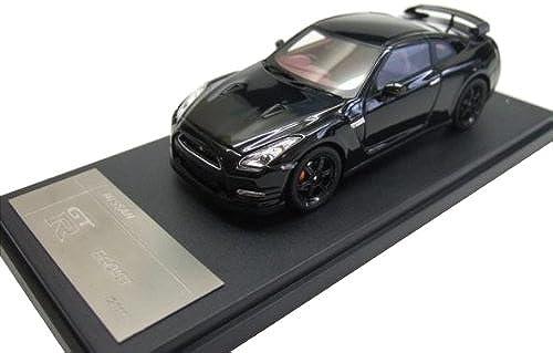 WIT'S 1 43 NISSAN GT-R 2011 EGOIST   Meteo Flake noir Pearl (japan import)