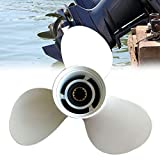 POHOVE Hélice fuera de borda de aleación de aluminio de 13 dientes,profesional 40-50 HP, hélice de motor fueraborda 11 5/8 X 11-G 69W-45947-00 YH/OB 25-60HP para motor de barco para Yama ha fueraborda