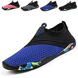 Aqua Shoes Escarpines Hombres Mujer Niños Zapatos de Agua Zapatillas Ligeros de Secado Rápido para Swim Beach Surf Yoga
