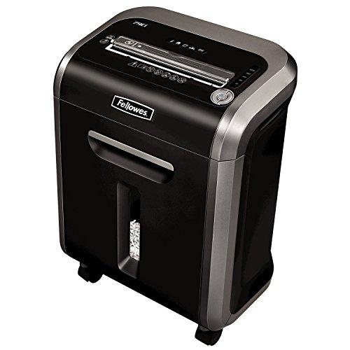 Fellowes 79CI trituradora de papel Corte en confeti 23 cm Negro - Triturador de papel (Corte en confeti, 23 cm, 4 x 38 mm, 23 L, 12 min, 3.3 mm/min)