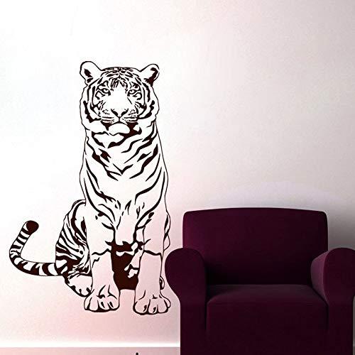 yaonuli Tiger wandtattoo vinyl schilderij decoratie huis woonkamer slaapkamer decoratie wandtattoo