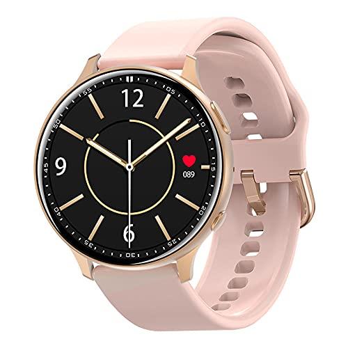Yumanluo Pulsera Inteligente de Actividad,Bluetooth Call Smart Watch, Health Monitoring Sports Bracelet-Pink,Podómetro Monitores de Actividad Impermeable