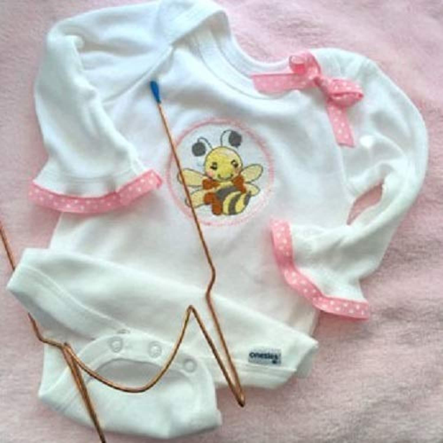 Easy Tool for Baby - Hoop Baby Bodysuits Fast and Easy for Embroidery Machine