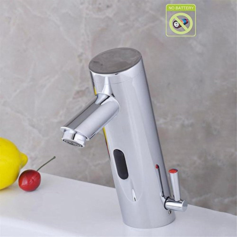 Lalaky Waschtischarmaturen Wasserhahn Waschbecken Spültisch Küchenarmatur Spültischarmatur Spülbecken Mischbatterie Waschtischarmatur Wasserinduziertes Kupfer Mit Eigenantrieb