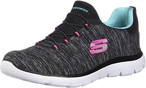 Skechers Women's Summits-Quick Getaway Sneaker, Bklb, 8.5 M US