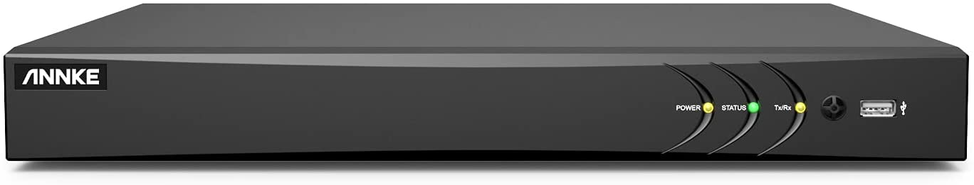 ANNKE Ranking TOP9 32 Channel H.265+ Miami Mall Security NVR DVR 1080P 5-in-1 Recorder