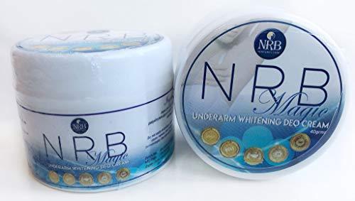 NRB Magic Deo Cream Antiperspirant & Deodorant - 2 Jars