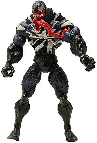 WJP Spiderman Modelo de Personaje Decoración 18C Venom Slaughter Deadly Guardian Muñeca Juguete Recuerdo / Regalos / Colección / Artesanía (Color: Naranja)-Naranja