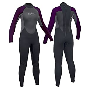 Ladies Neptune 3/2 mm Neoprene Full Wetsuit re Canoe Kayak Surfing Jetski Sailing Paddleboarding - UK ladies sizes 8, 10, 12, 14, 16, 18, 20 & 22