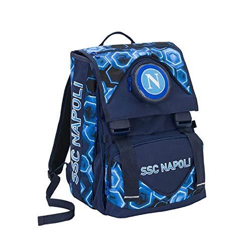 ssc napoli Forza Napoli Set per la Scuola, 41 cm, 550 - Blue Deep