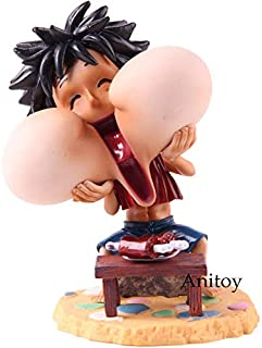 Anime Monkey D Luffy Action Figure PVC Collectible Model Toy 2 Styles Toddler Must Haves Friendship Gifts Girl S Favourite Superhero Stickers Unboxing Box