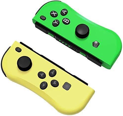 HK Wireless Switch Controller para Nintendo Interruptor de Encendido/Bruja Lite, Gamepad Bluetooth sin Hilos, Palanca de Mando con Seis Ejes, Gyro con Doub de Choque