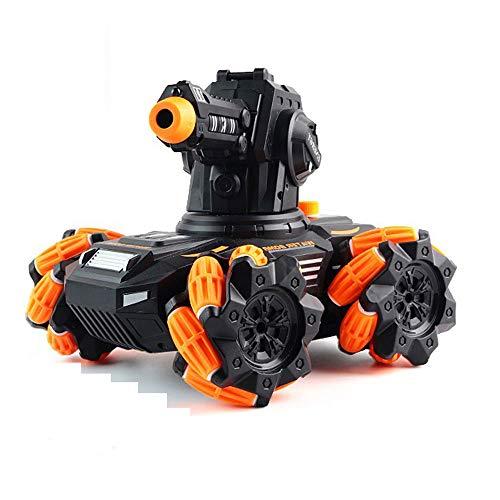 QHYZRV Tanque De Control Remoto 2.4GHz Ráfaga Multidireccional Bomba De Agua Vehículo Blindado Vehículo De Asalto Vehículo De Control Remoto Coche De Juguete Eléctrico para Niños