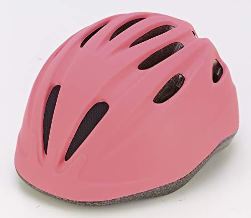 Prophete Unisex Jugend Kinder-Fahrradhelm, Glue-On Technologie, Einstellbarer Kopfring 52-56 cm, TÜV/GS geprüft, Farbe pink, Einheitsgröße