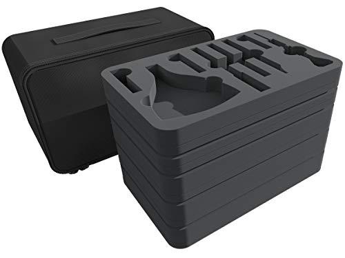 Feldherr Mini Plus Bag Compatible with Citadel Tools + 39 Model Color Bottles + Brushes