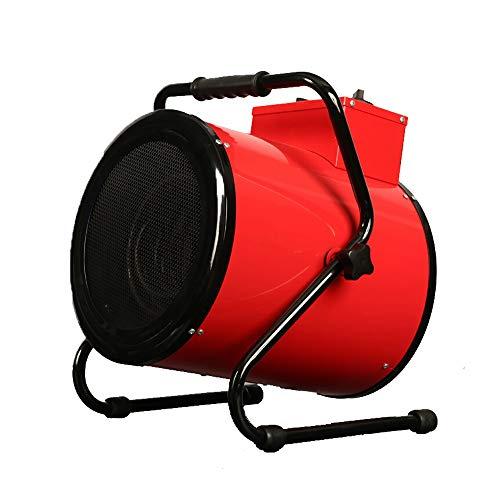 JD Calentador, espacio calentador de alta potencia industrial de acero inoxidable de calefacción eléctrica velocidad de calentamiento tubo es adecuado for fábricas comerciales, 9000W ( Size : 9000W )