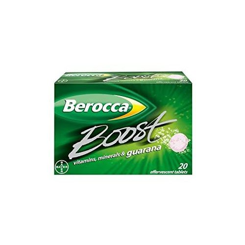 Berocca Boost Tablets, 20-Count