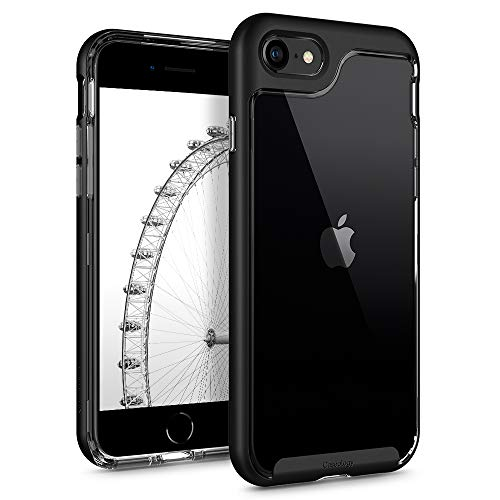 Capa Para iPhone 8/7 Caseology Skyfall (Preto fosco)