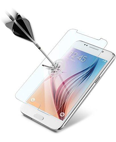 Cellular Line tempglassgals6–Bildschirmschutzfolie (Galaxy S6, Handy/Smartphone, Samsung, gehärtetes Glas, transparent)