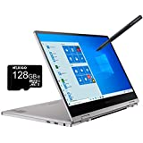2020 Samsung_Notebook 9 Pro 13 FHD 1080P Touchscreen 2-in-1 Laptop| Intel Core i7-8565U up to 4.6GHz| 8GB RAM| 256GB SSD| FP Reader| Backlit KB| Win 10 + NexiGo 128GB MicroSD Card Bundle