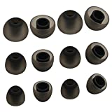 ALXCD Ear Tip for Jay Bird X4 X3 Earphone, SML 3 Sizes 6 Pair Soft Silicone Replacement Earbud Tips, Fit for Jay Bird Bluebud X3 X4 Earphone [6 Pair/4.5mm]