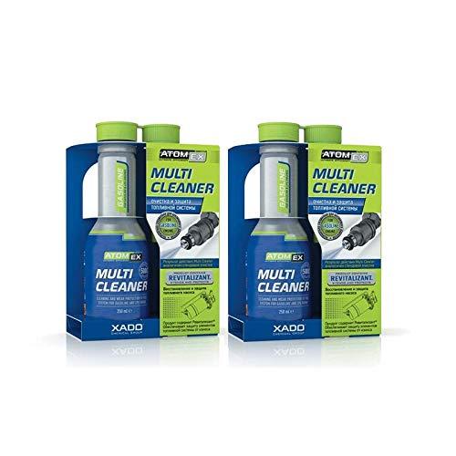 XADO Set für Motorreinigung - 2X Multi Cleaner Benzin