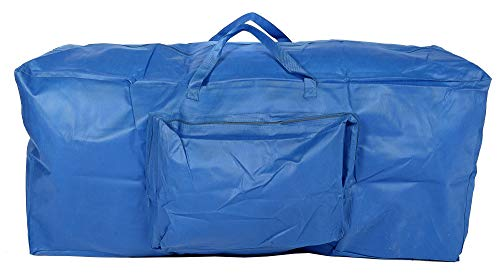 Ruddings Wood Artificial Christmas Tree Storage Bag - Blue Large Xmas Bag Store with Carry Handles