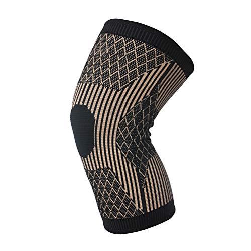 Yunobi Kupfer-Kniebandage – Sport-Kniebandage für Laufen, Sport, Workout, Arthritisentlastung, Knieschützer für Damen und Herren