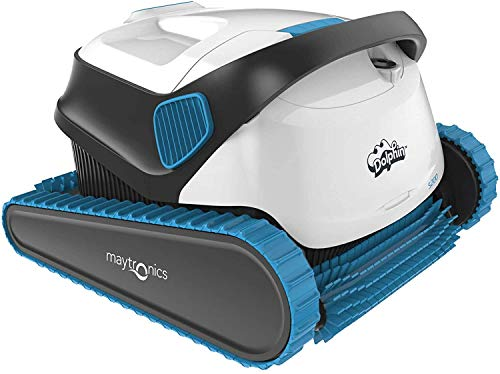 Dolphin S200 Robotic Pool Cleaner with Easy to Clean Top Load Filter to Suit up to 12m Pool. Suits Both in ground and Above Ground Pools