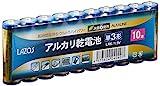 単3アルカリ乾電池60本セット(10本入×6パック) B-LA-T3X10