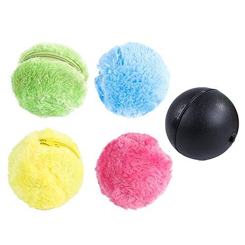 5Pcs Automatischer Rollender Ball Elektrische Spielzeug Ball für Hund, Mini Roboterreiniger Hunde Intelligenz Spielzeug Ball für Hund Katze Pet, Pet Lernspielzeug Pet Ball.