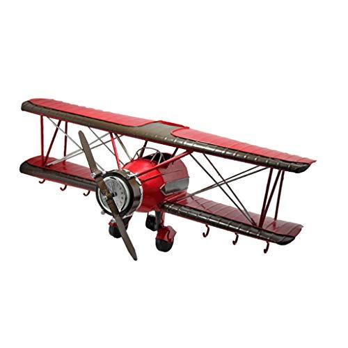 Retro Modelo de avión Gancho Perchero de Pared Gancho de decoración de Pared Decoración de Pared de habitación Infantil American Bar