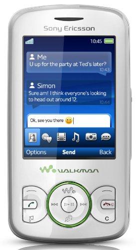 Sony Ericsson Spiro Handy (3.5mm Klinkenstecker, TrackID, 2.0 MP, UKW-Radio) green