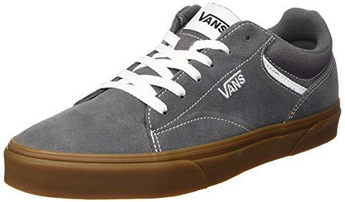 Vans Seldan, Sneaker para Hombre, Goma de Peltre de Gamuza, 39 EU
