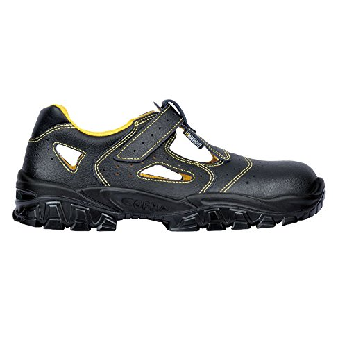 Cofra Sicherheitsschuh Sandale schwarz DON Gr: 46