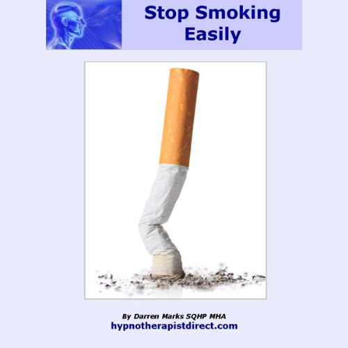 Stop Smoking Easily audiobook cover art