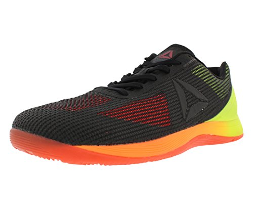 Reebok Men's Crossfit Nano 7.0 Cross-Trainer Shoe, Vitamin C/Solar Yellow/Black, 7.5 M US
