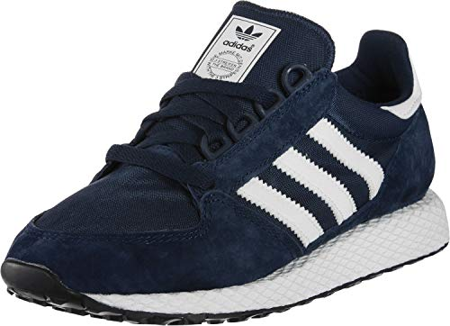 adidas Forest Grove Zapatillas de Gimnasia Hombre, Azul (Collegiate Navy/Cloud White/Core Black Collegiate Navy/Cloud White/Core Black), 43 1/3 EU (9 UK)