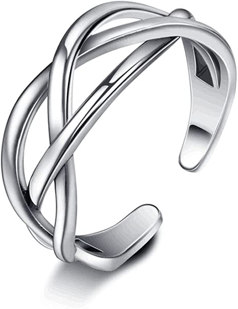 Beautysoul 925 Sterling Silver Ring Women shipfree NEW before selling ☆ for Solid Adjustable