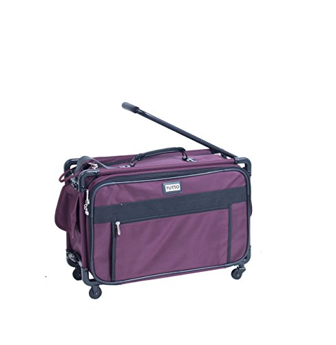 TUTTO 22 Inch Maximizer Carry-On Suiter, Burgundy, One Size -  TUTTO Luggage, 4022RST
