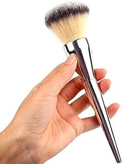 (プタス)Putars メイクブラシ パウダーブラシ チークブラシ 20cm シルバー 化粧ブラシ ふわふわ お肌に優しい 毛量たっぷり メイク道具 プレゼント