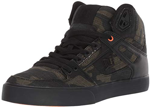 DC Herren Pure High-Top Wc Tx Se, Camo/Russet Orange, 49 EU