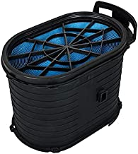 Air Filter Compatible with Ford F250 F350 F450 F550 Super Duty 2003 2004 2005 2006 2007, Excursion 2003 2004 2005 6.0 Powerstroke V8 Diesel ReplaceFA1778, 4C3Z-9601-AA, 3C3Z-9601-BA