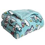 Coosey Unicorn Fleece Baby Blanket Printed Thick Soft Lightweight Cozy Warm Plush Minky Baby Blanket for Toddler Newborns Kids, 30' X 40'