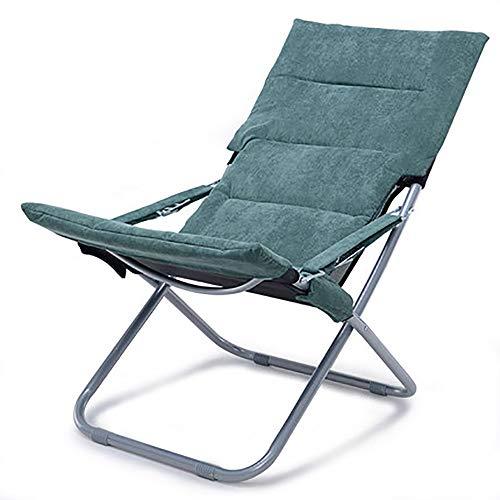 BLWX - Chaise pliante - Chaise pliante Déjeuner Sieste Chaise Bureau Balcon Enceinte Femme Chaise Dossier Loisirs En plein air Chaise de plage Chaise longue Chaise pliante (Couleur : C)